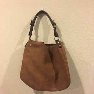 Sole Society tan hobo cognac bag purse